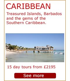 Caribbean - Treasured islands tour